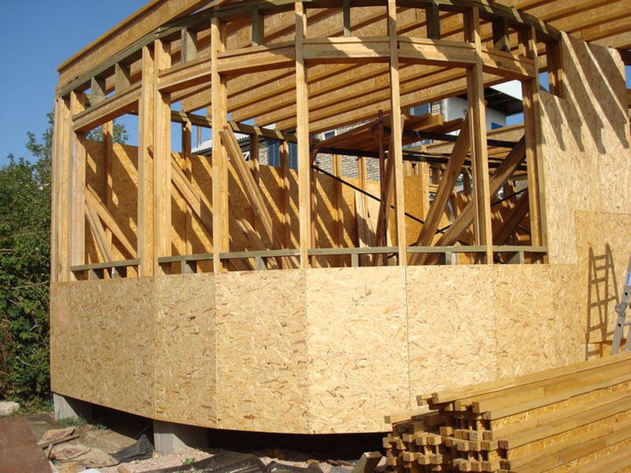 Строительство каркасной дома своими руками
