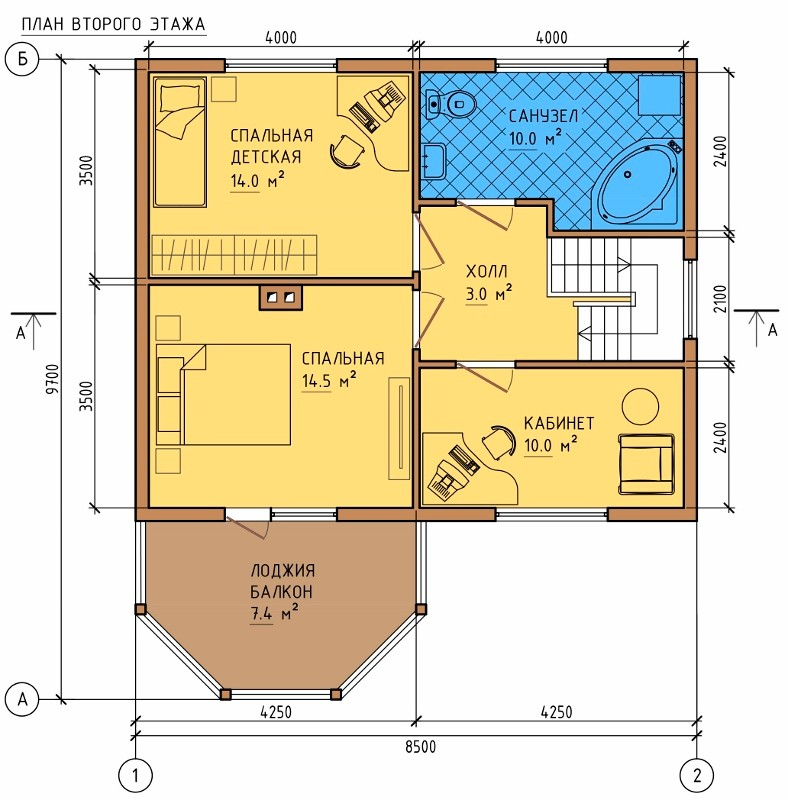 План дома 8 на 8 кв м - самые интересные новости со всего ми.