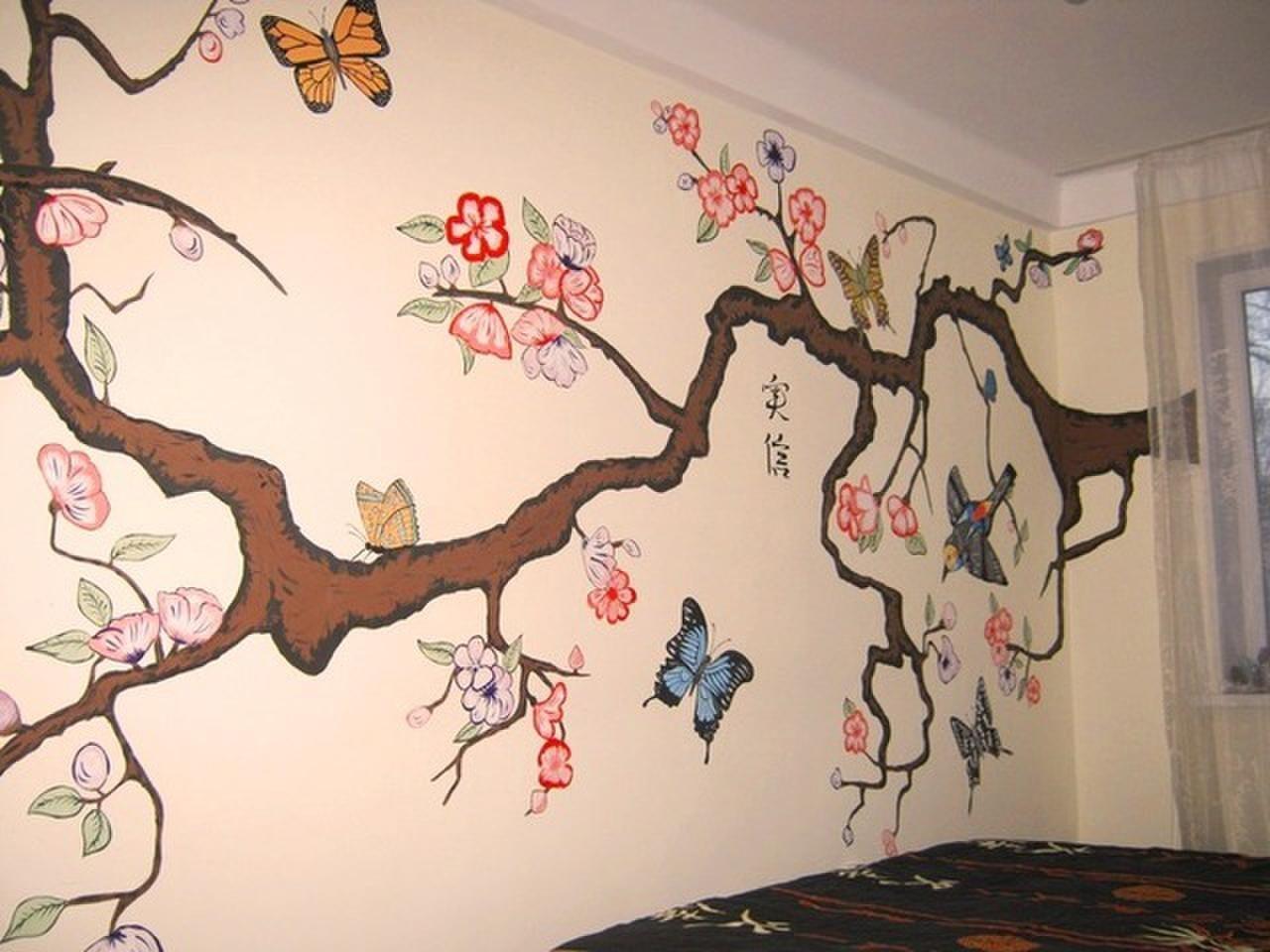 Декорирование стен своими руками мастер класс фото
